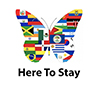 Here to stay logo